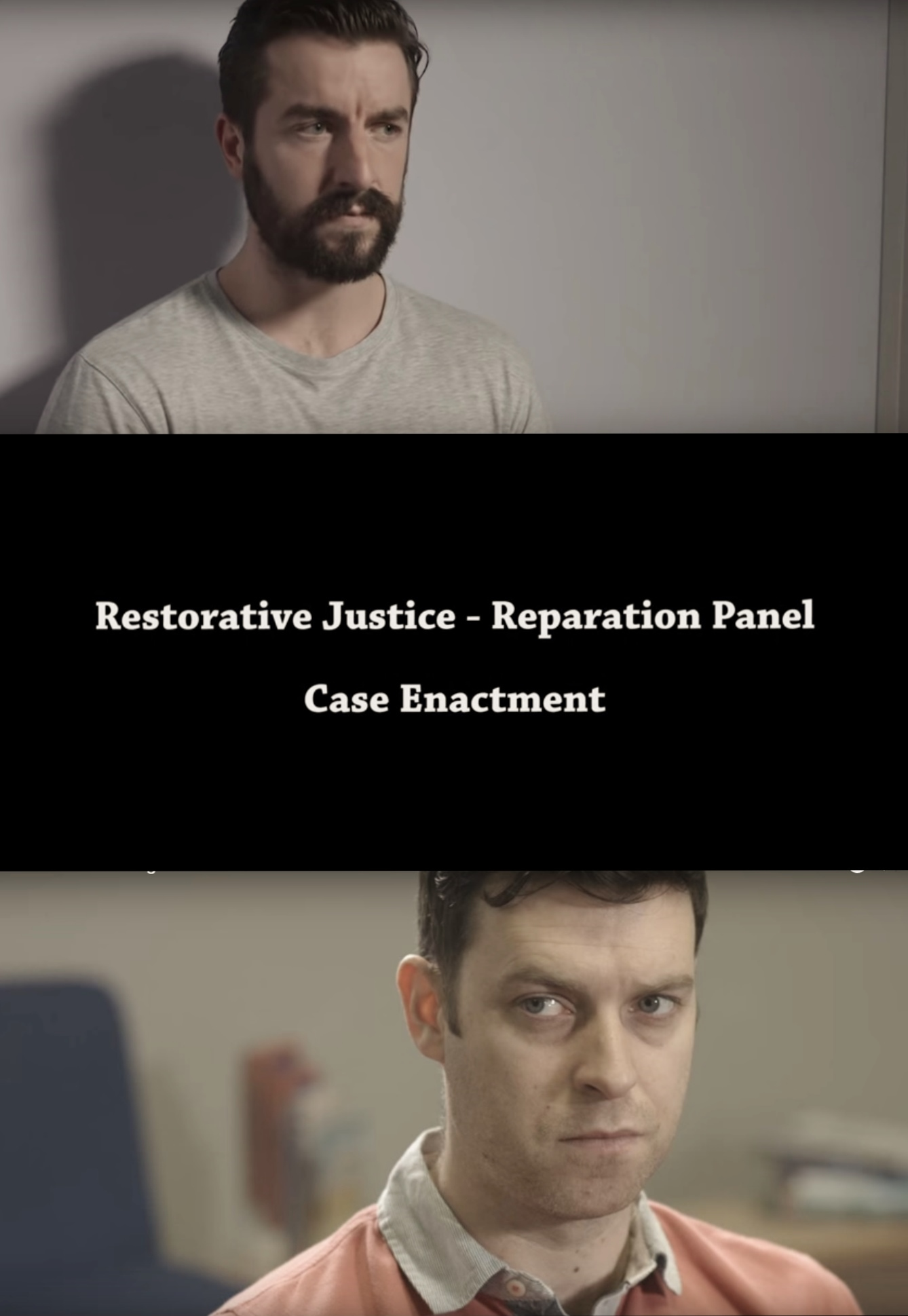 Probation Services to use Trees Rd'S 'Restorative Justice Training Video'. Thanks to all for the hard work and professionalism!