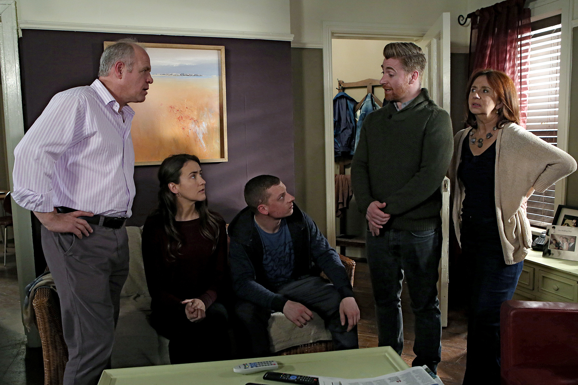Amy as Hannah Mark on Ireland's longest running hit TV soap.