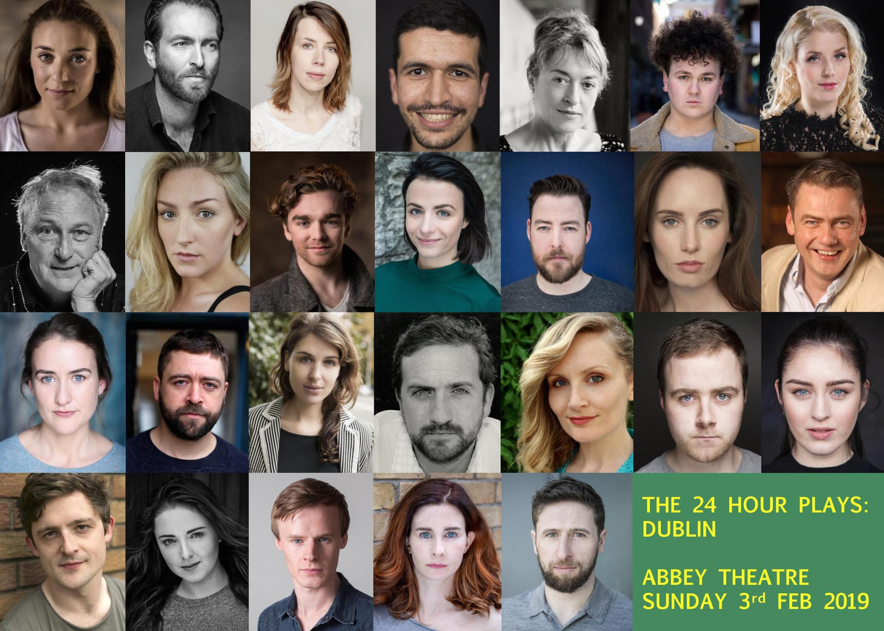 Catch Amy Feb 3 as part of The 24 Hour Plays: Dublin, in aid of Dublin Youth Theatre at The Abbey Theatre