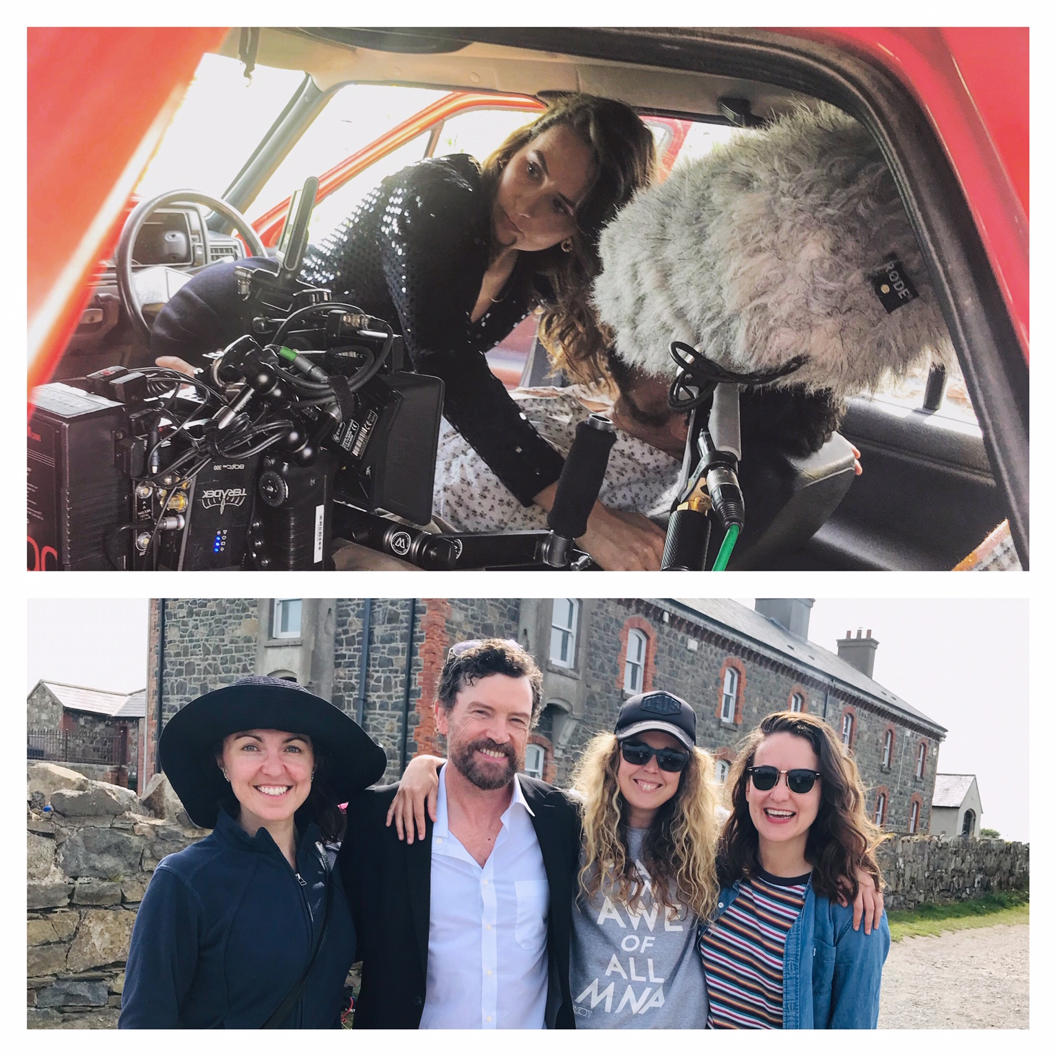 Amy wraps on Mick Flannery's new music video 'Wasteland' feat. Steve Wall, dir. Sinead McDevitt, Cinematography: Ash Barron