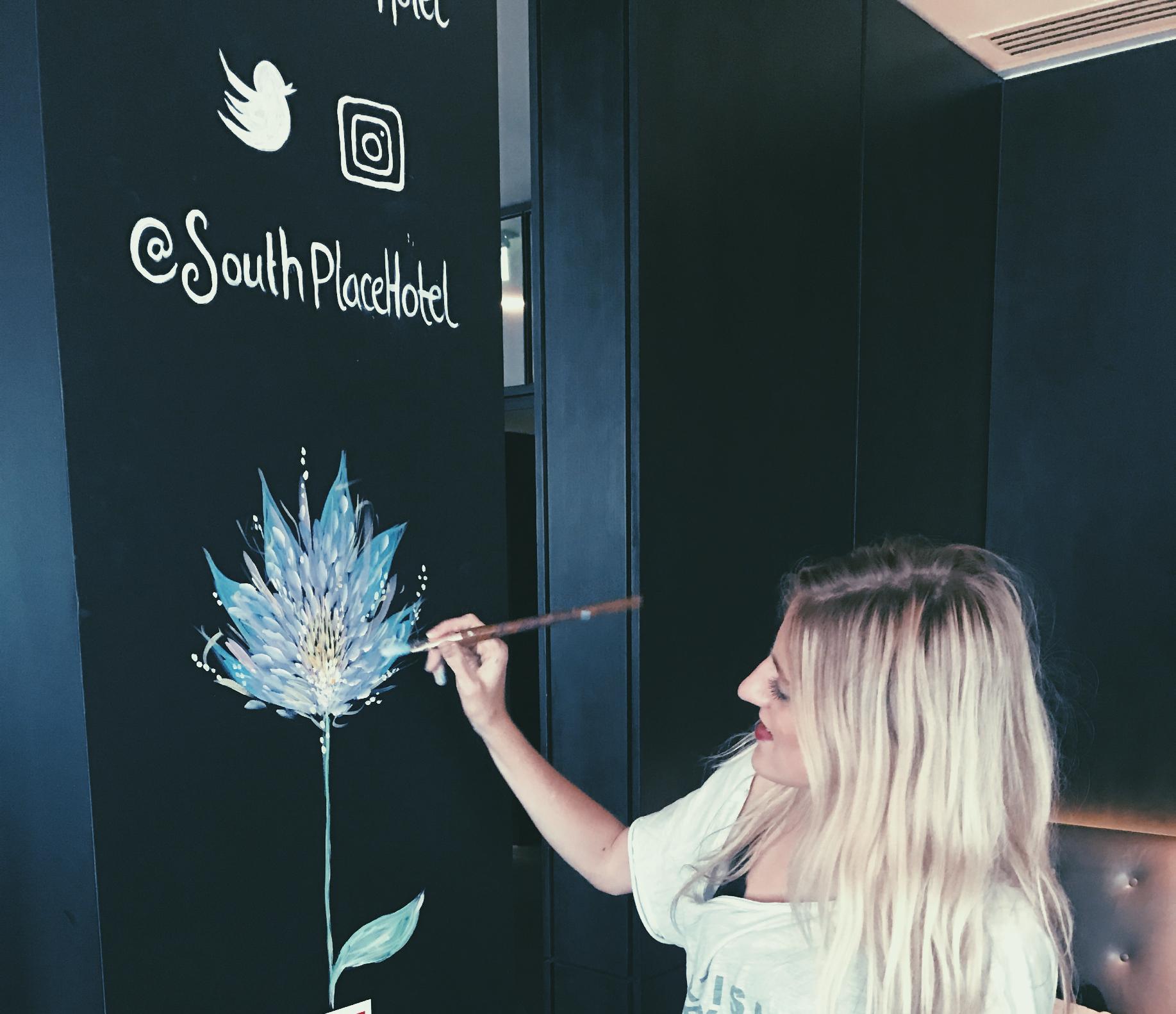 Sophie Tea Art Blossom City