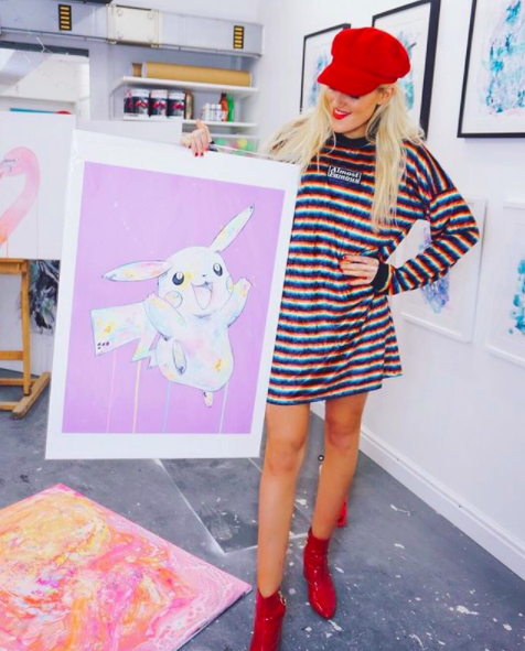 Art-Prints-Fashion-Colour-Sophie