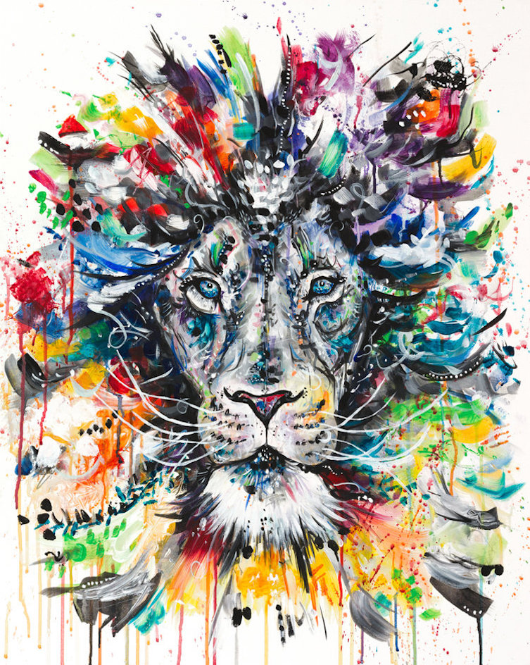 The Psychedellic Lion