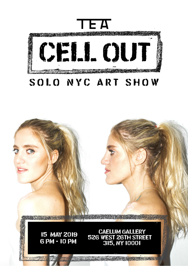 Wednesday 15th May - Sophie Tea 'Cell Out' Solo Art Show