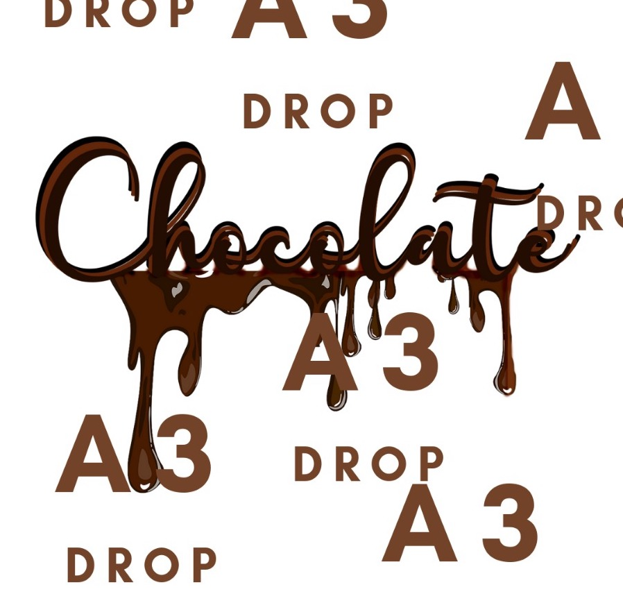shop - a3 chocolate drop now