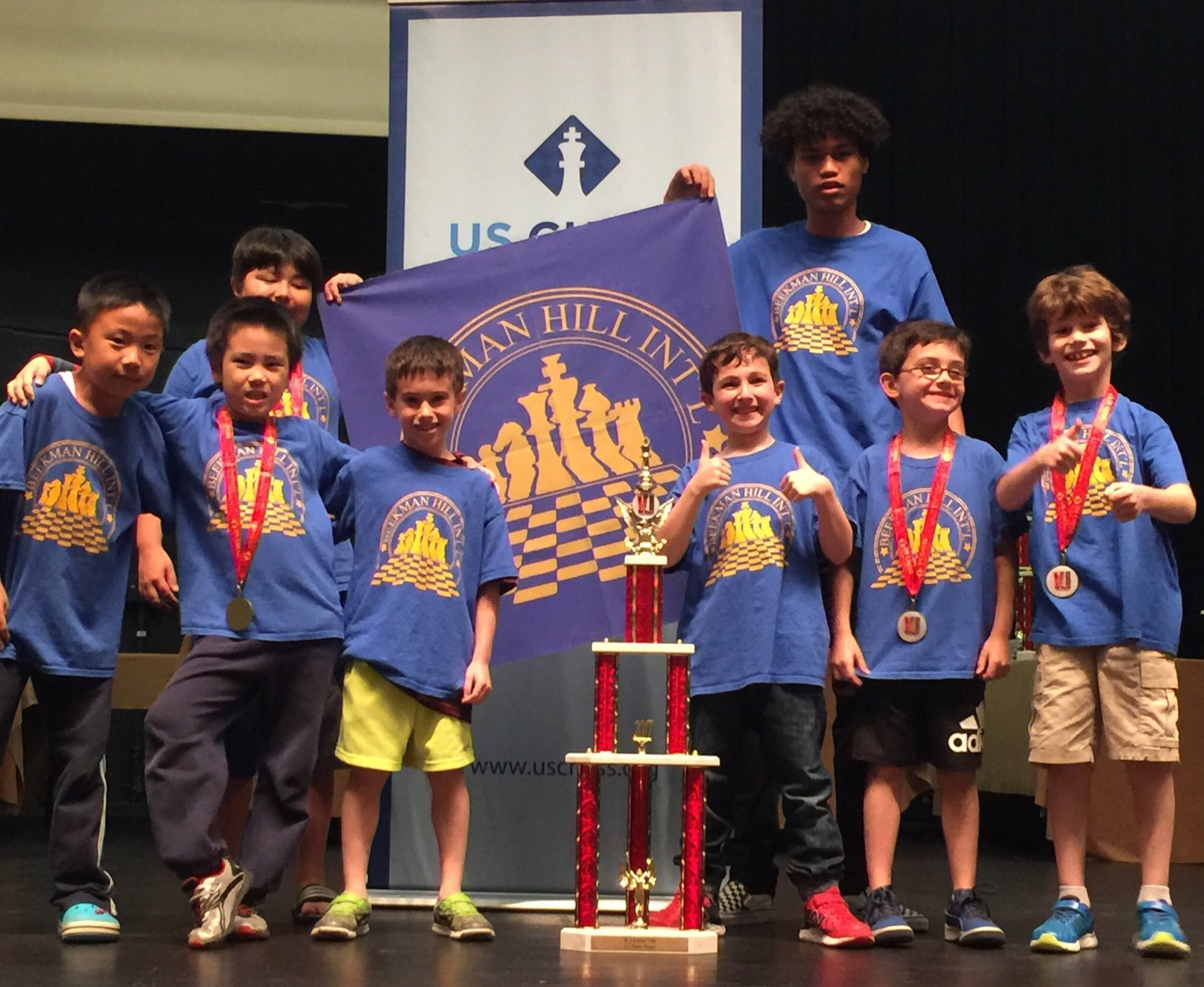 PS 59 = K - 3 U 700 National Champions!
