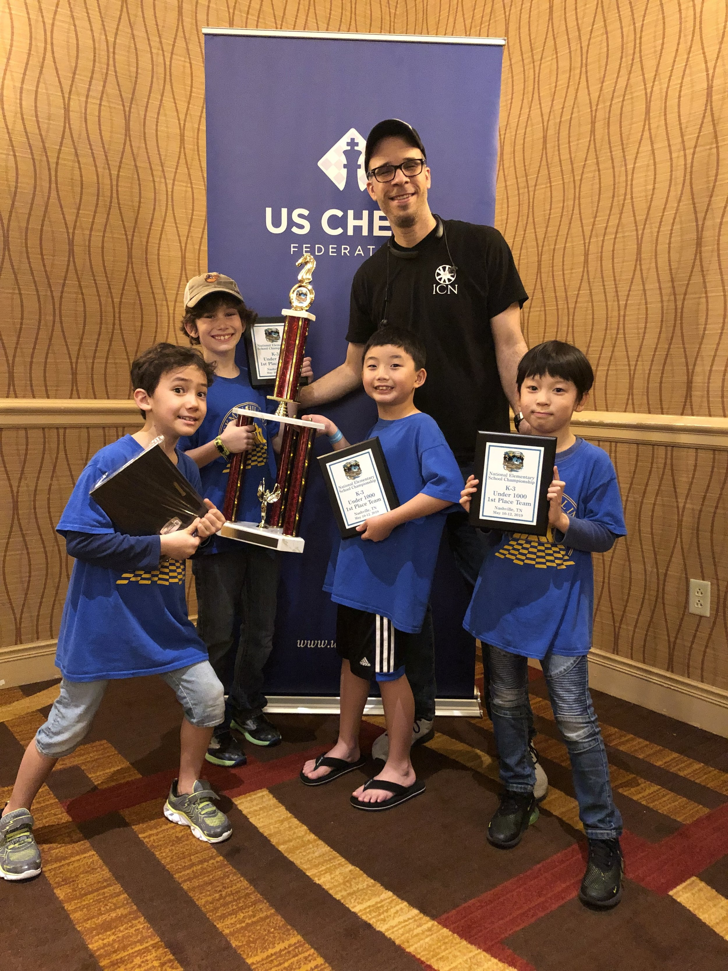 PS 59 secures the K-3 U 1000 National Championship!