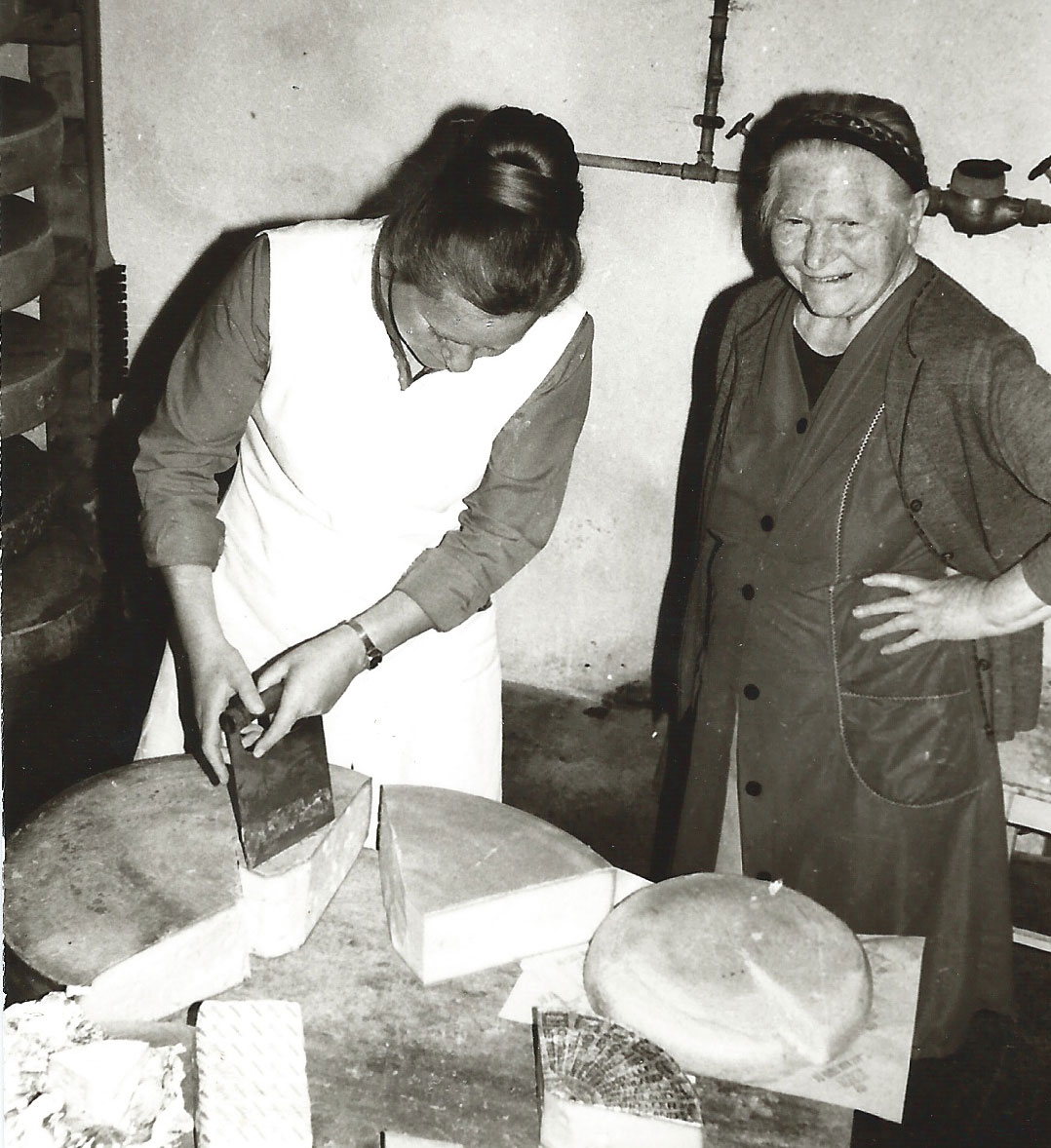 Maria mit ihrer Mutter