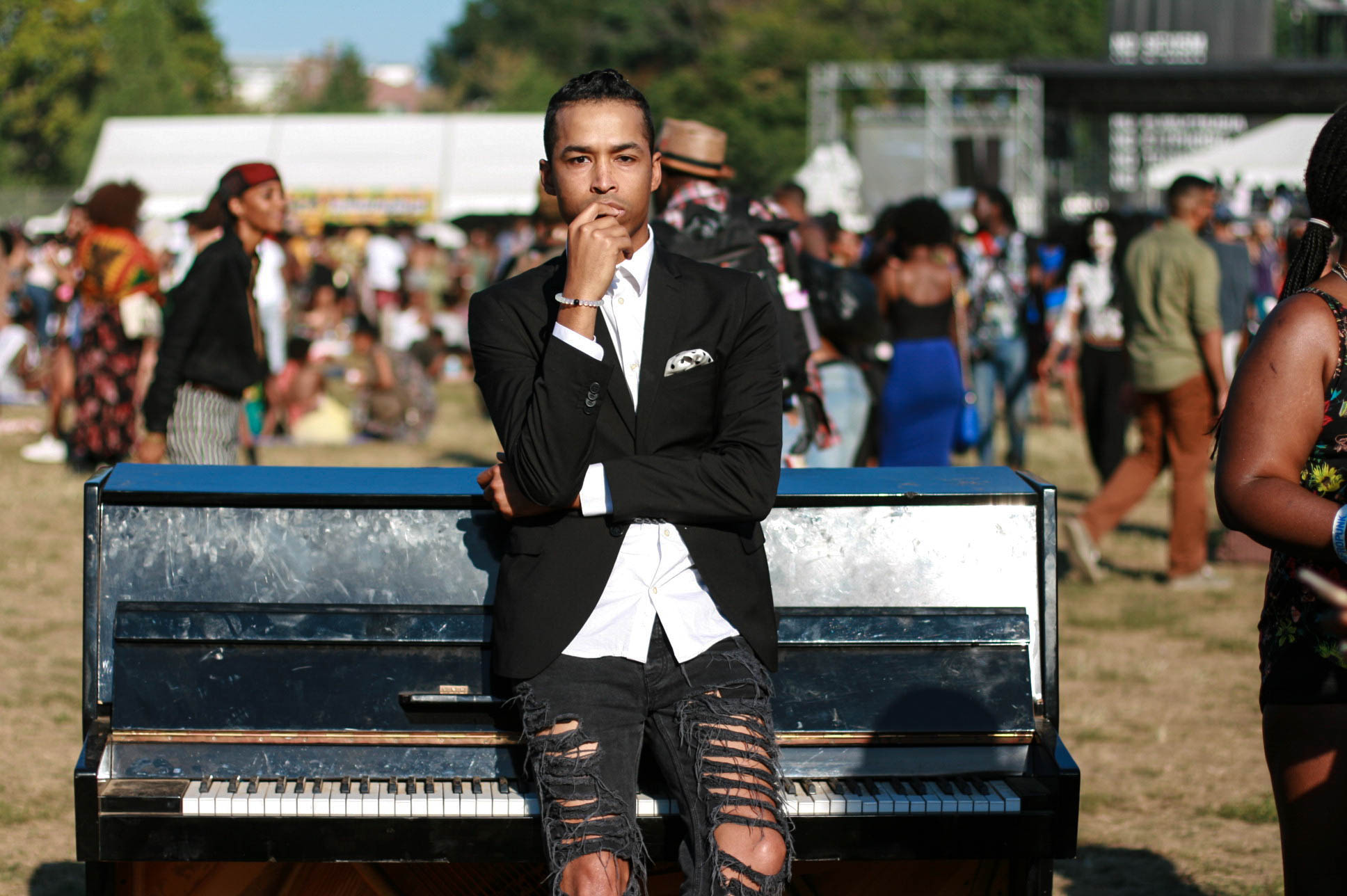 Sir the Baptist at #afropunkfest