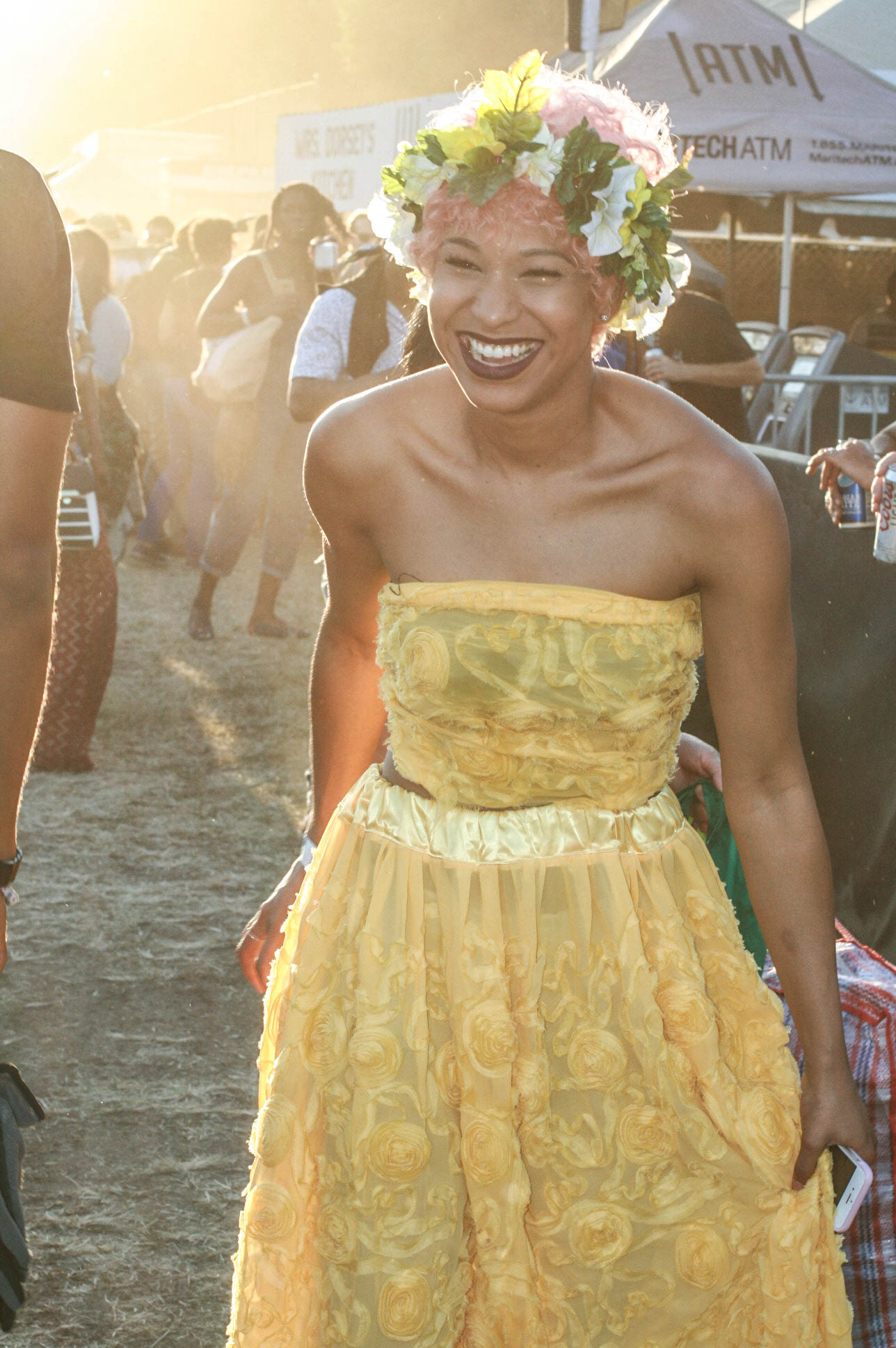 @skye at #afropunkfest .