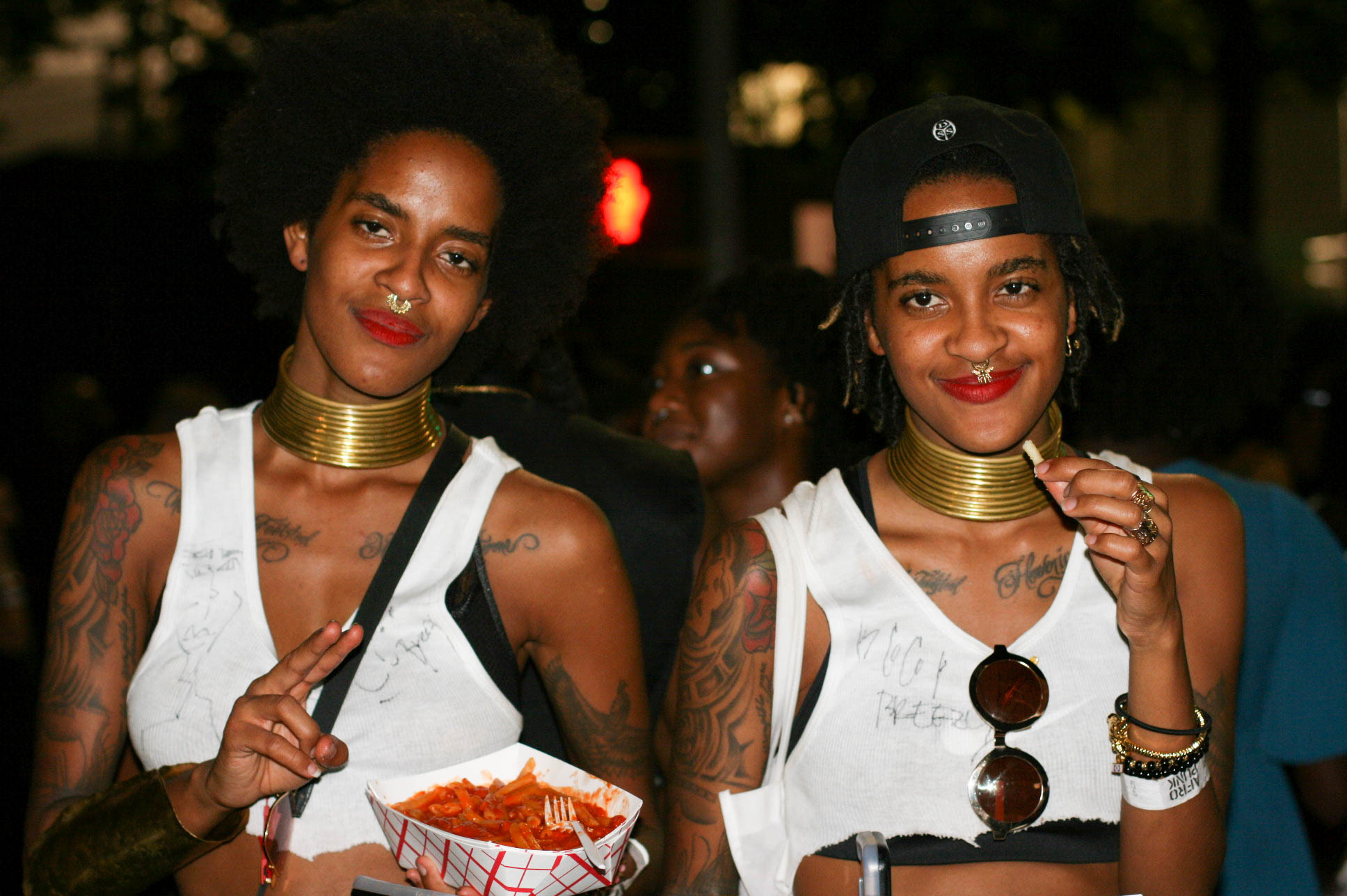 @cocoandbreezy at #afropunkfest .