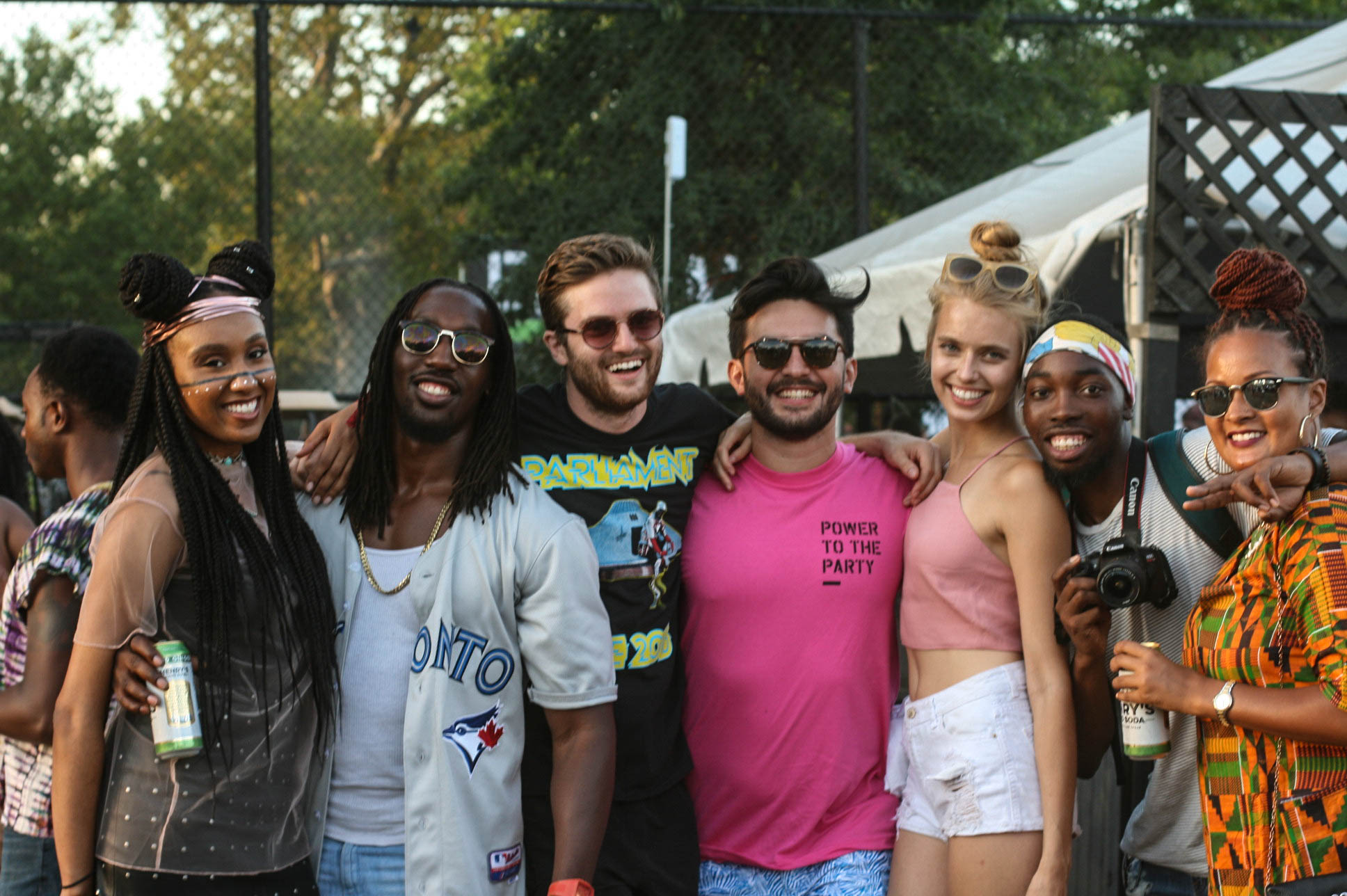 @meganbethi , @oohsoofreshmo & friends at #afropunkfest .