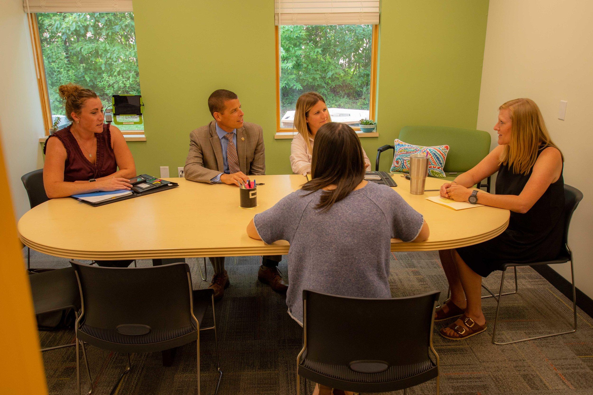 Post Meeting Room -