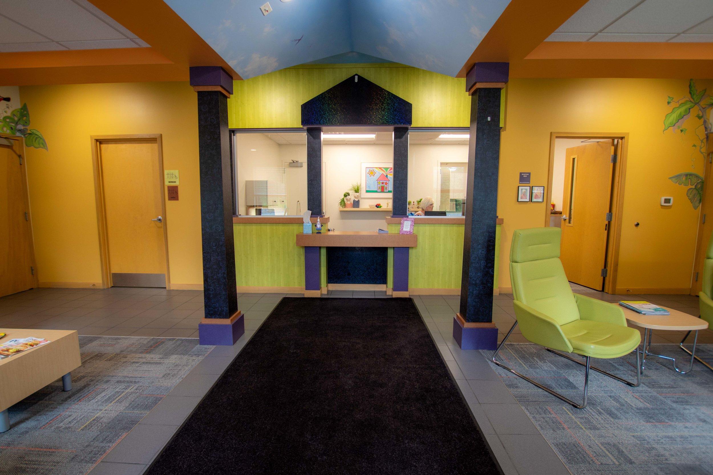Entrance & Waiting Room -