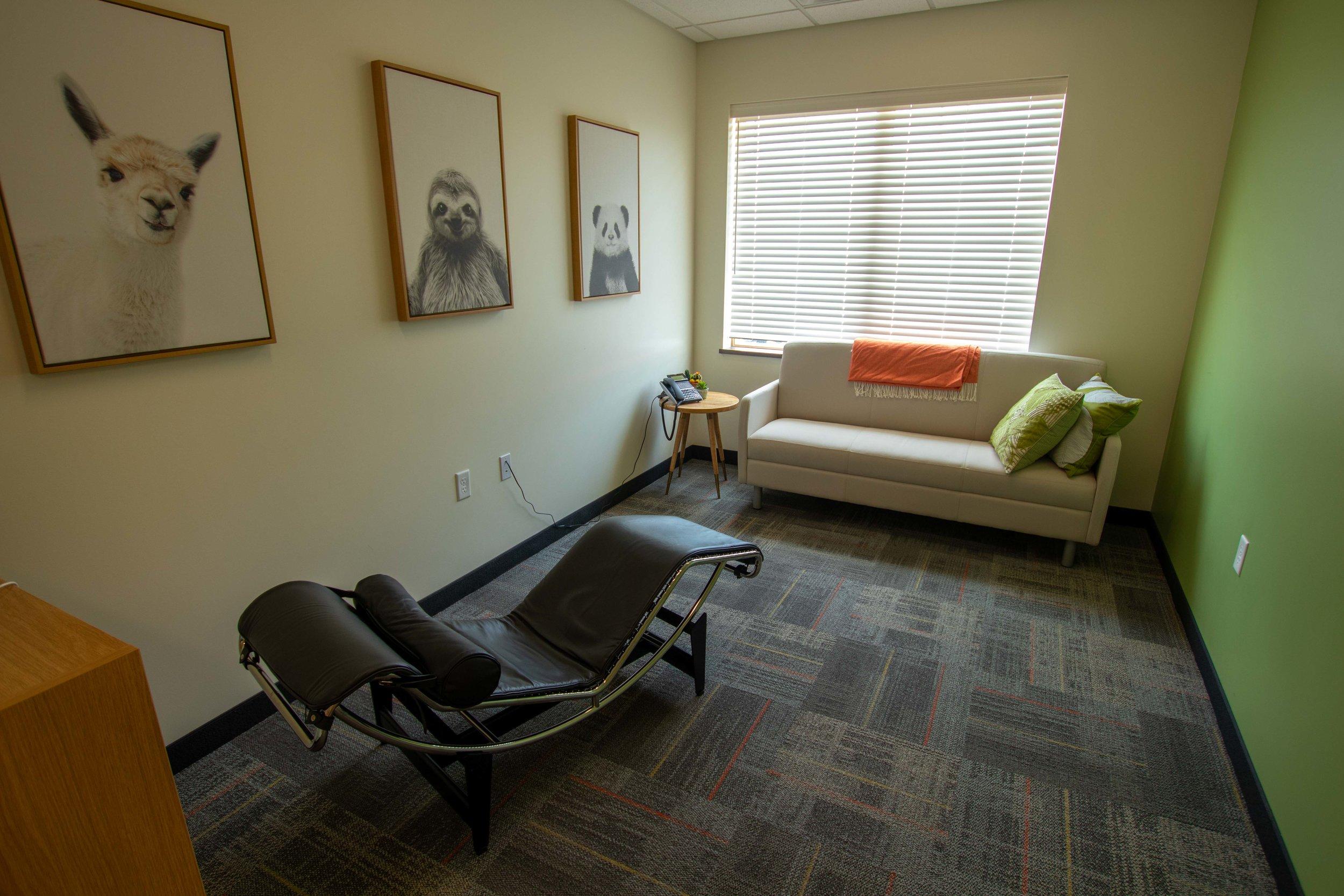 Wellness Room & Respite Room -