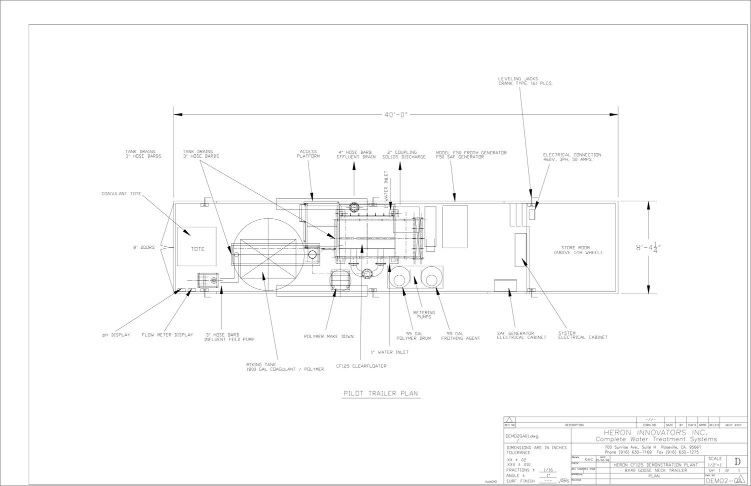 SAF schematic