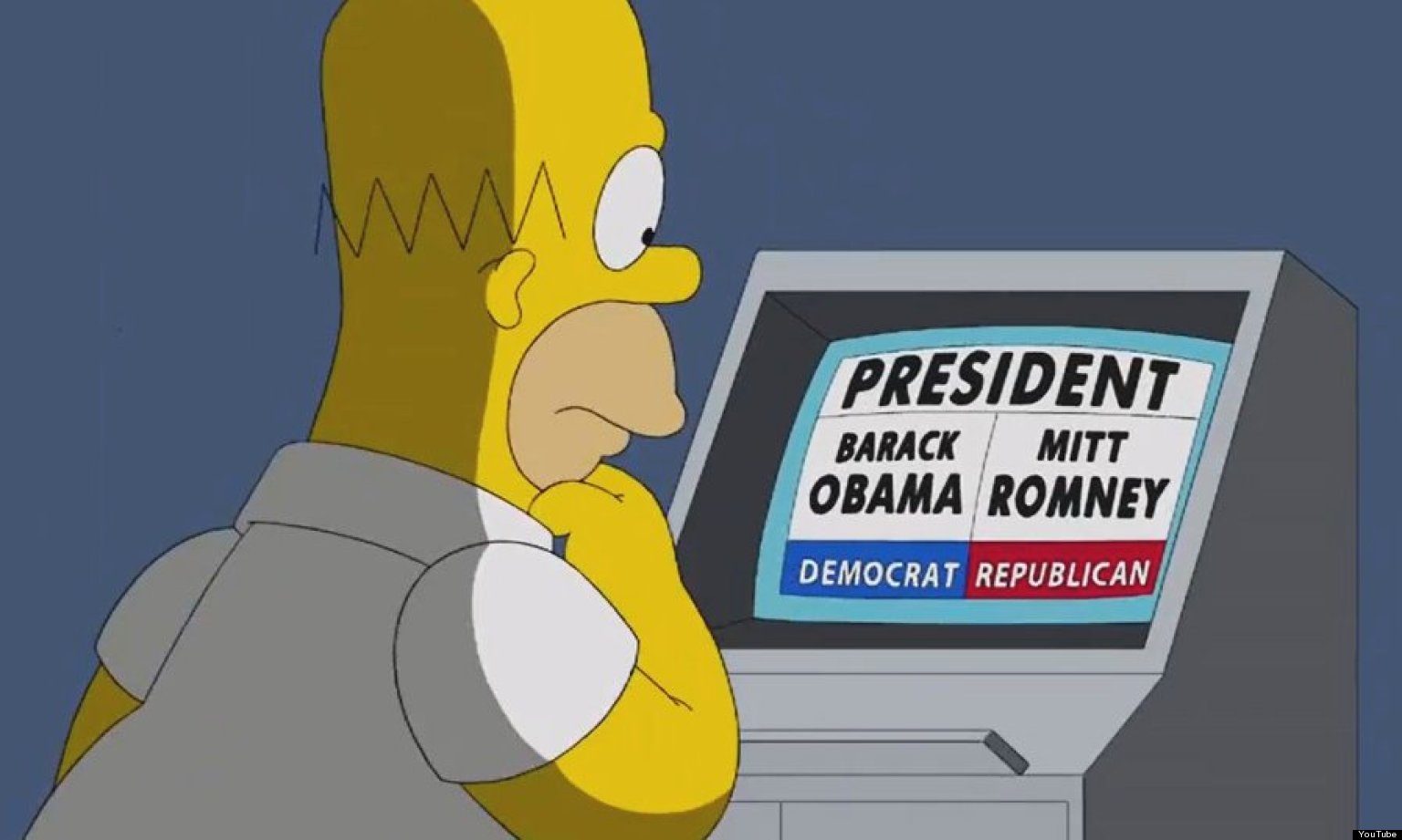 """""""No, I want to vote for Obama! It's time for a change!"""""""