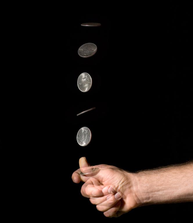 Accurate representation of Iowa caucus coin flips