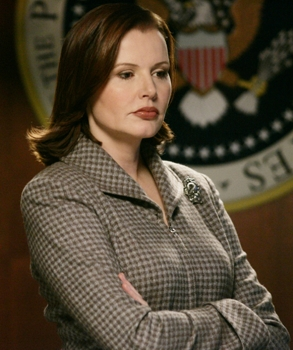 Not even Geena Davis saw Trump's candidacy coming.