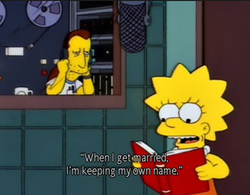 Most of my feminist consciousness came from my mom, the rest came from Lisa Simpson.