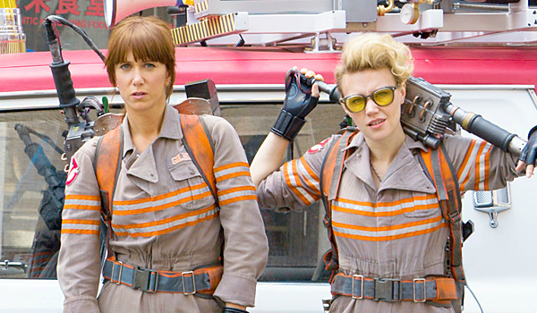 It's going to be Ghostbusters for the next 17 weeks. That's the only movie I want to see.
