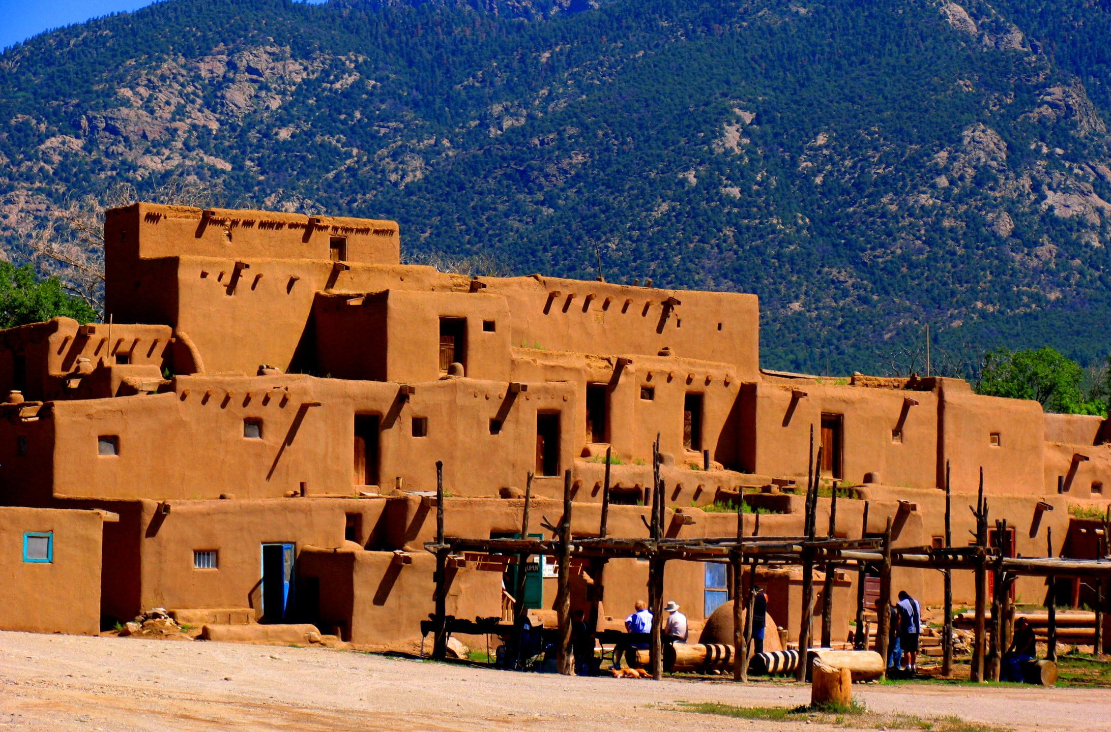 Soften those prison riots with a beautiful pueblo!