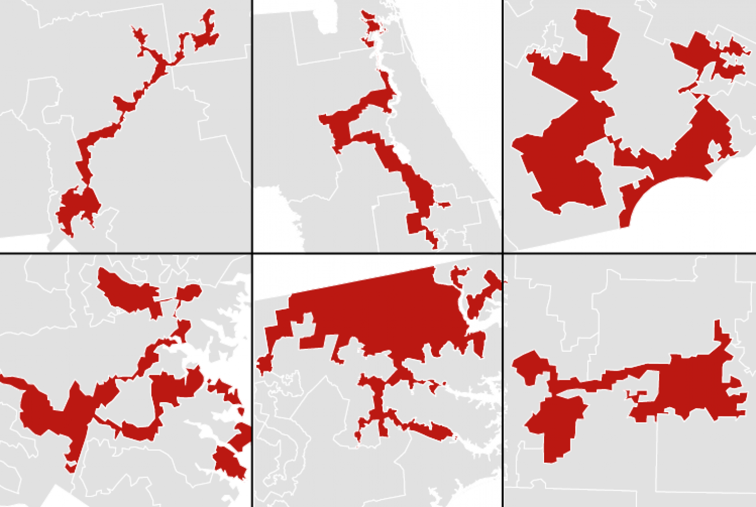 What do you mean gerrymandered?