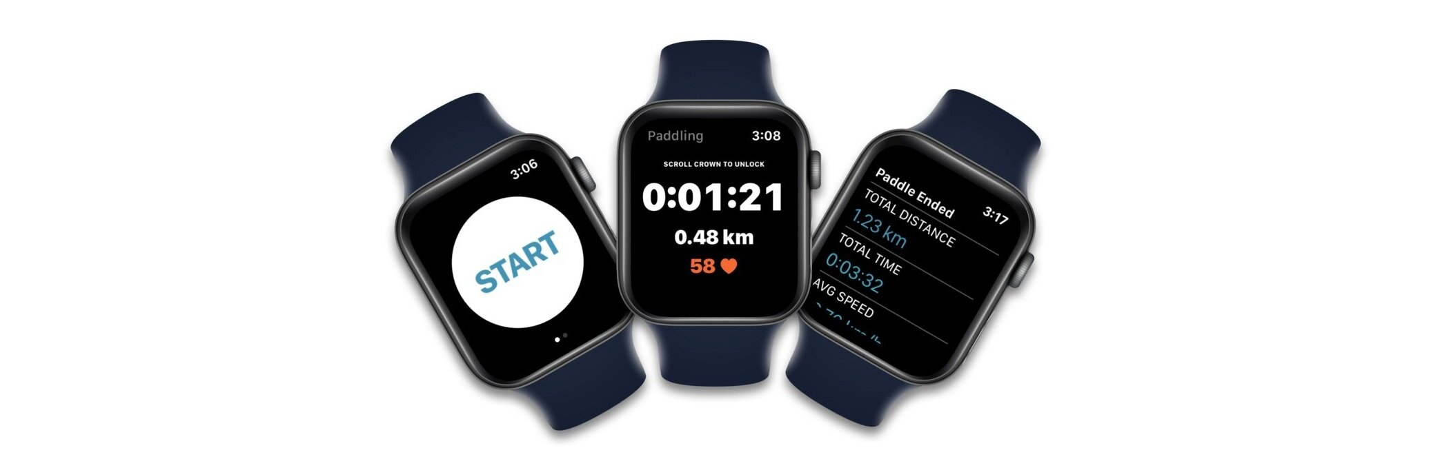 Built for Apple Watch - Independent Apple Watch App.Check your distance and heart rate with just a glance to your wrist.Integration with Apple Health fills your Activity Rings.
