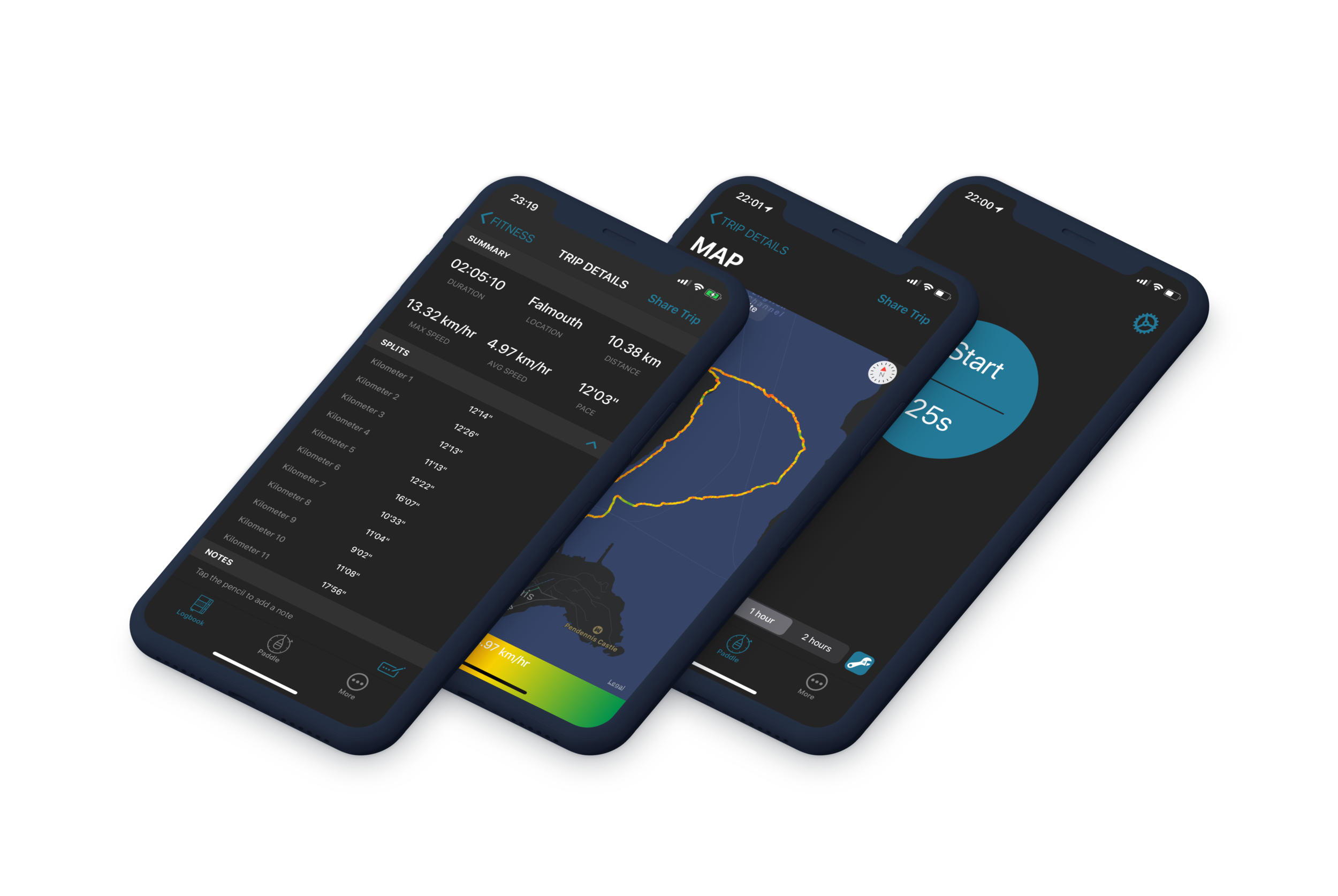 Dark Mode - Prefer that stealth look?Dark mode ready to track and view your trips!