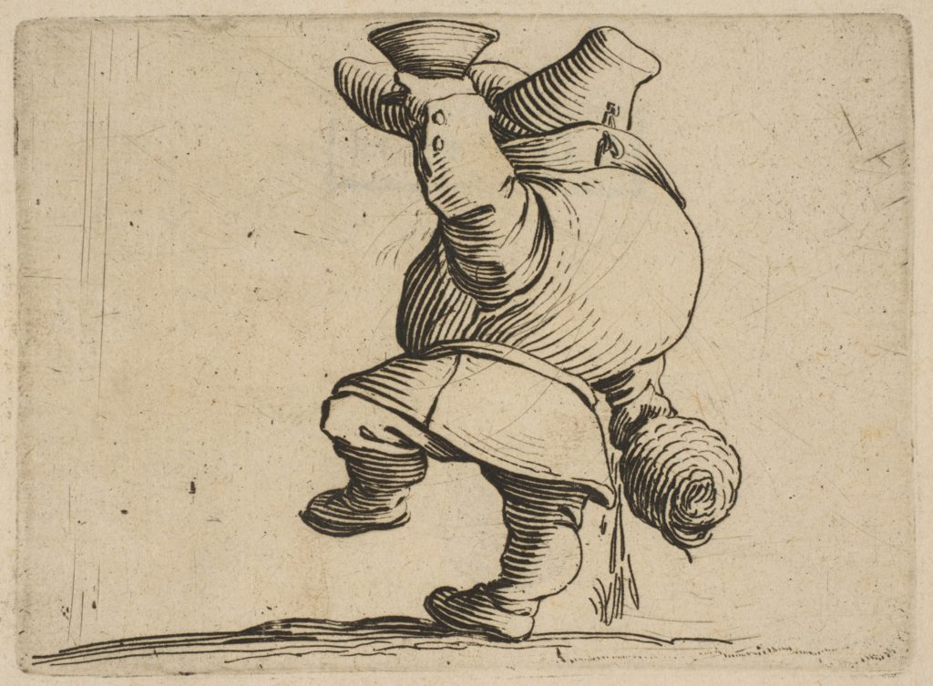 Le Buveur Vu de Dos (The Drinker Seen from Behind), from Varie Figure Gobbi, suite appelée aussi Les Bossus, Les Pygmées, Les Nains Grotesques (Various Hunchbacked Figures, The Hunchbacks, The Pygmes, The Grotesque Dwarfs).jpg