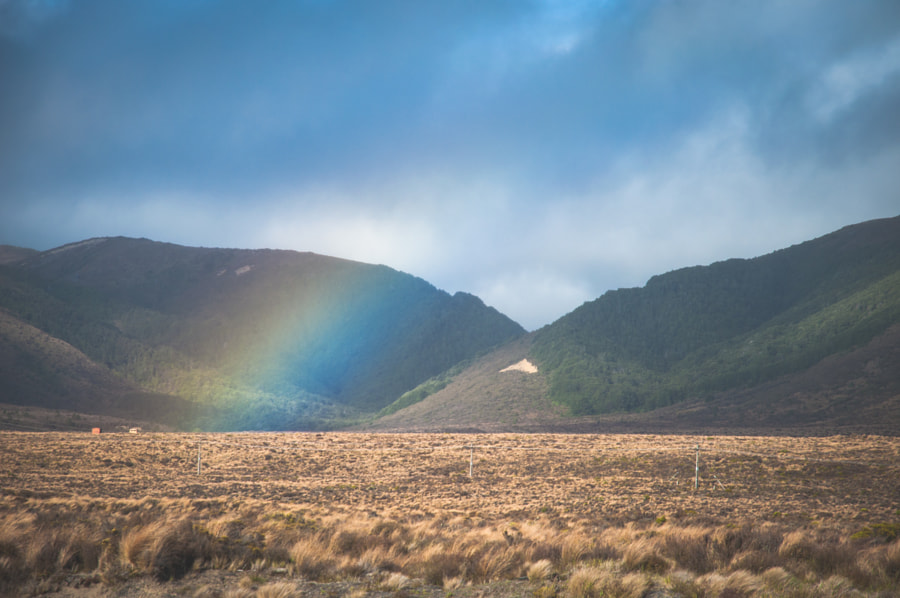 Desert Road Rainbow