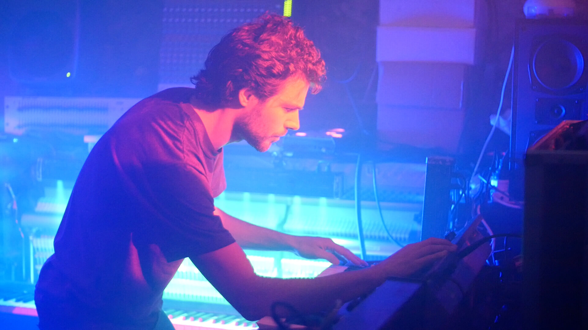 """- """"... his insane musicality and intuitive understanding of synthesizers is nothing short of astonishing.""""— Rhian Sheehan"""