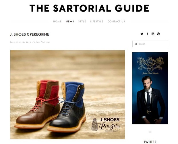 The Satorial Guide, Sept 2014