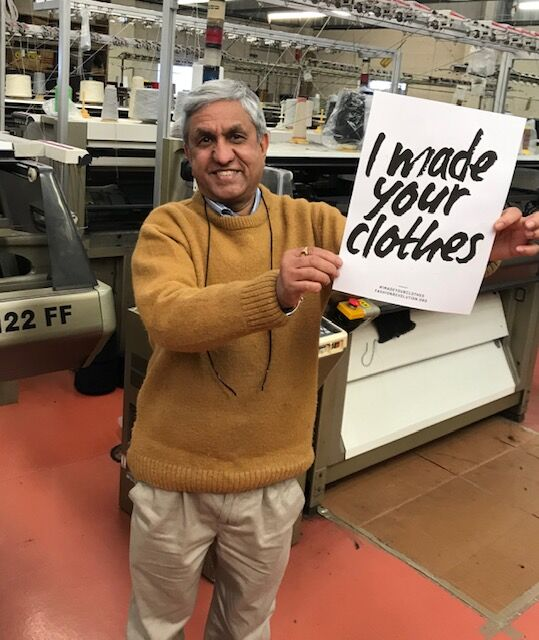 Surinda - Our number one man for knitwear in the UK