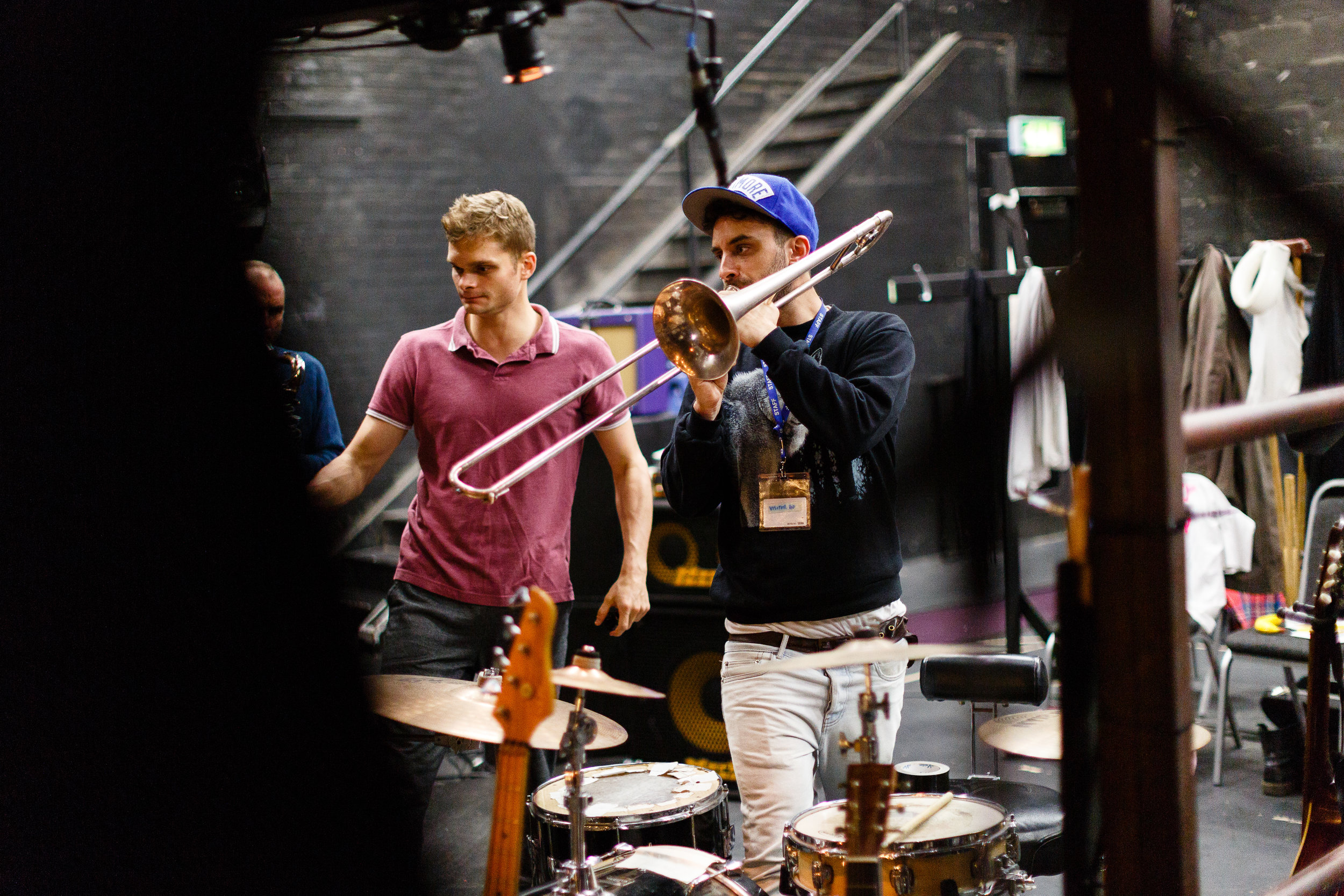 Rehearsals - London 2015