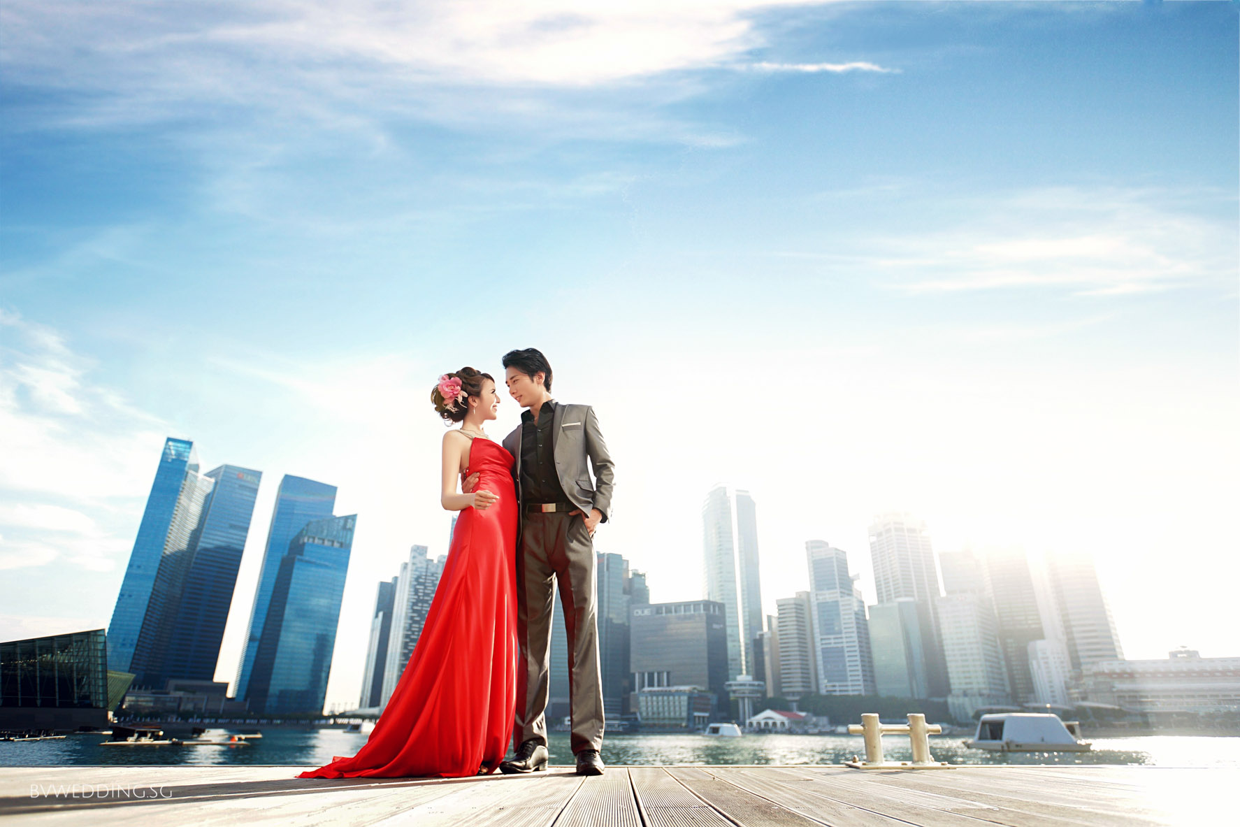 Pre-wedding Photoshoot at LV-MBS