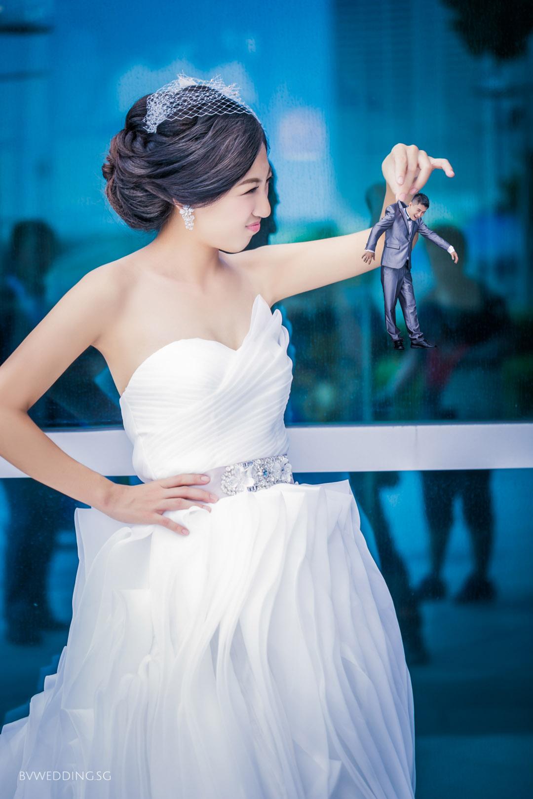 Creative Pre-wedding Photoshoot