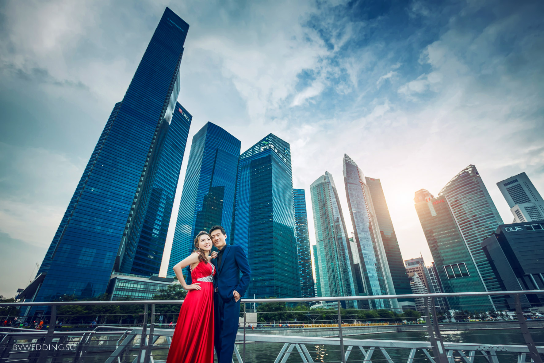 Pre-wedding Photoshoot at LV MBS