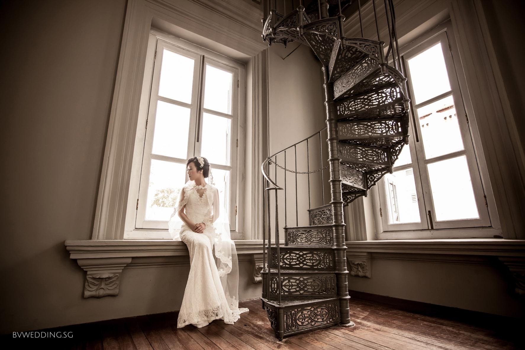 Pre-wedding photoshoot at national museum(indoor)