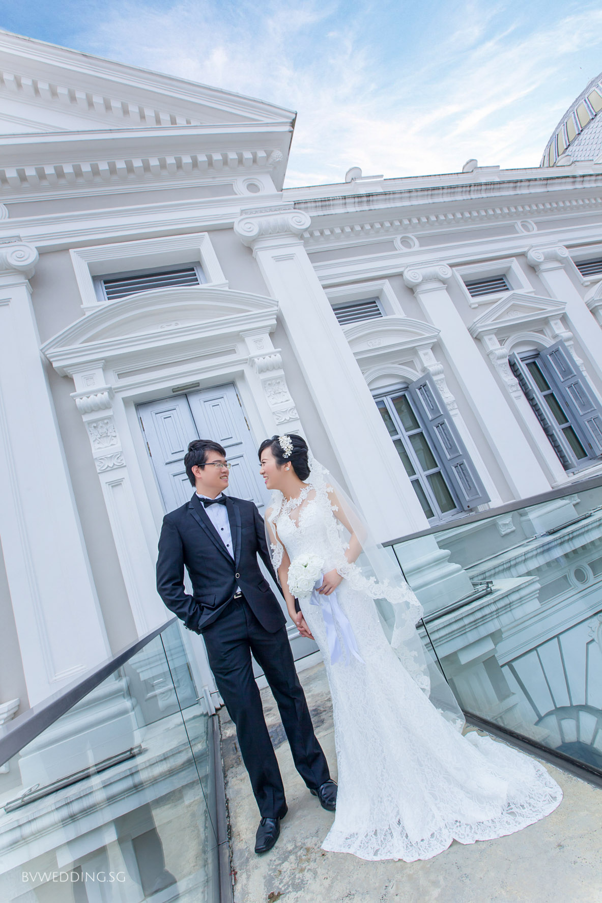 Pre-wedding photoshoot at national museum(outdoor)