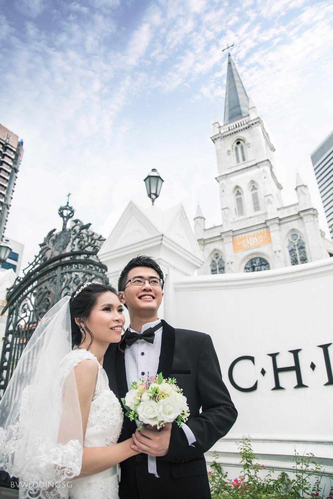 Pre-wedding Photoshoot at CHIJMES