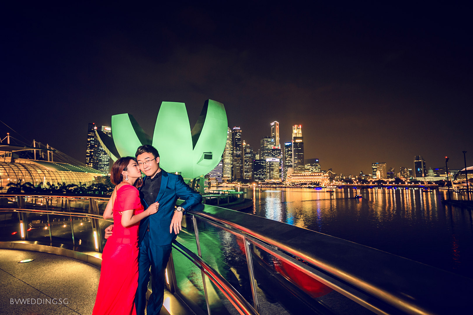Pre-wedding Photoshoot at Helix Bridge