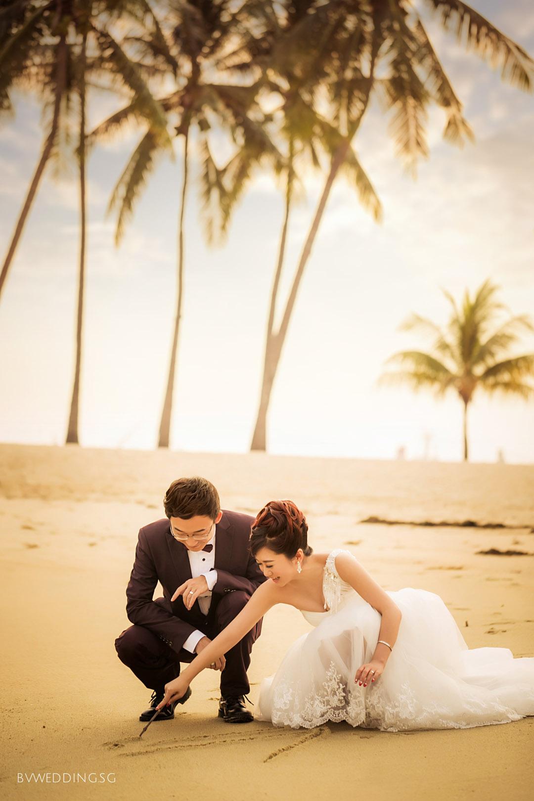 Pre-wedding Photoshoot at Sentosa