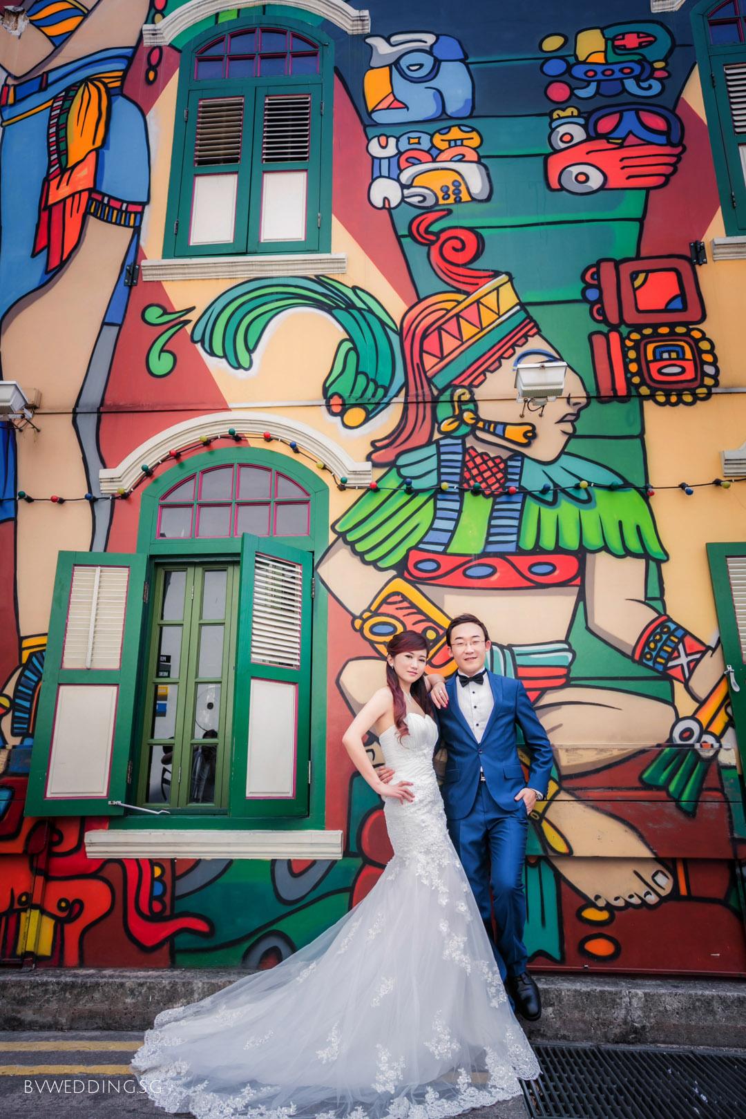 Pre-wedding photoshoot at haji lane