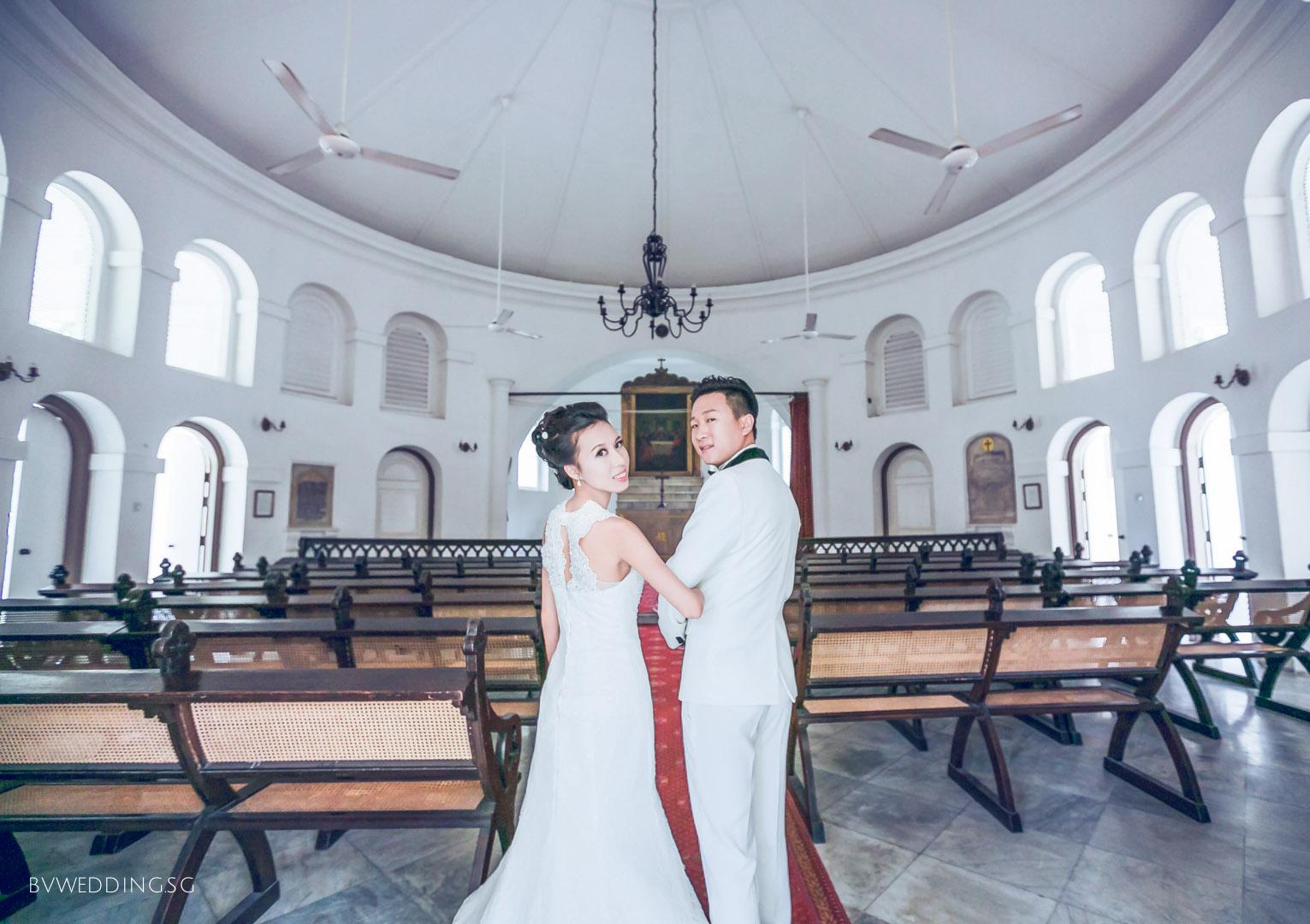 Pre-wedding Photoshoot at Armenian Church