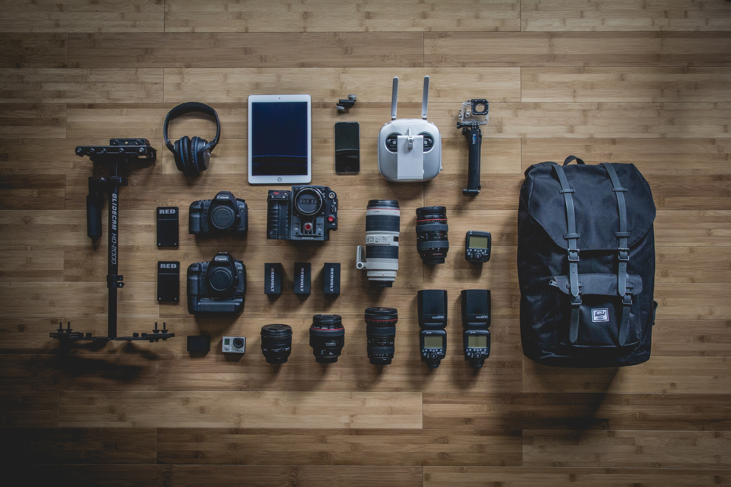 Professional Photography Equipments