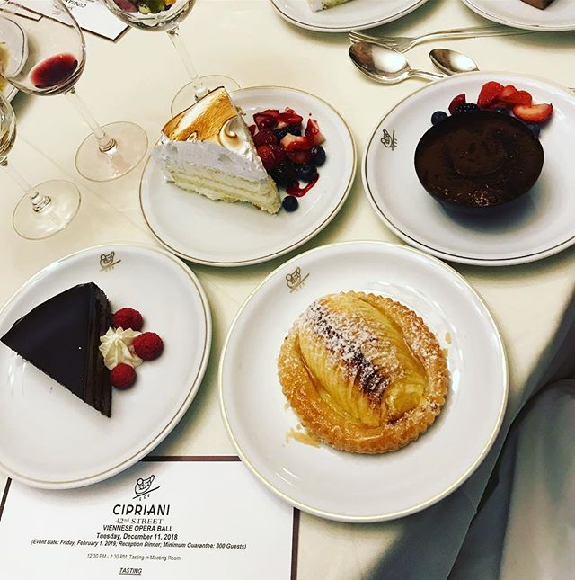 T A S T I N G Event Planning perks 😉 . . #tinygala #eventplanner #events #specialevents #nyc #cipriani