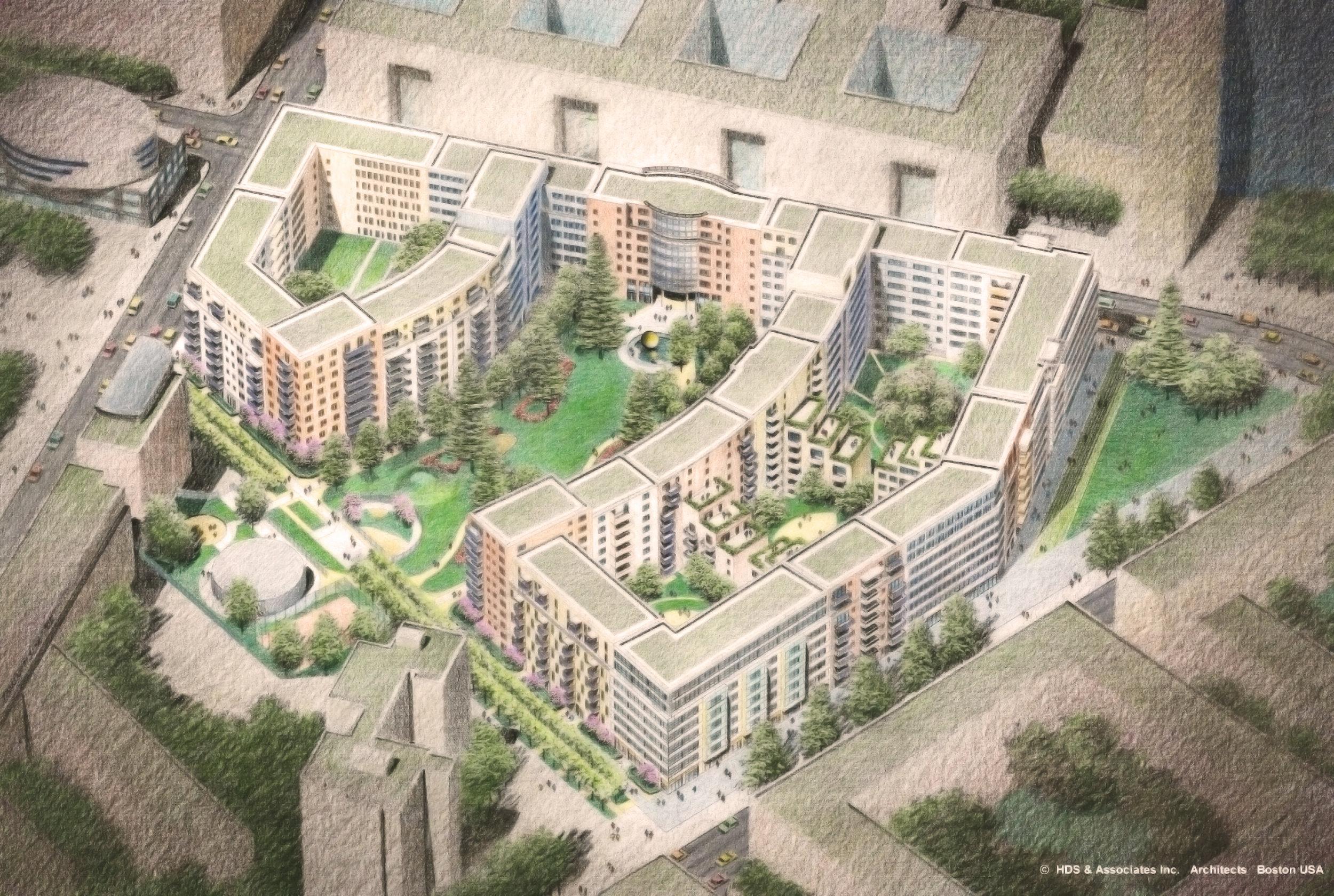 Markengrafenpark Site Plan by HDS Architecture