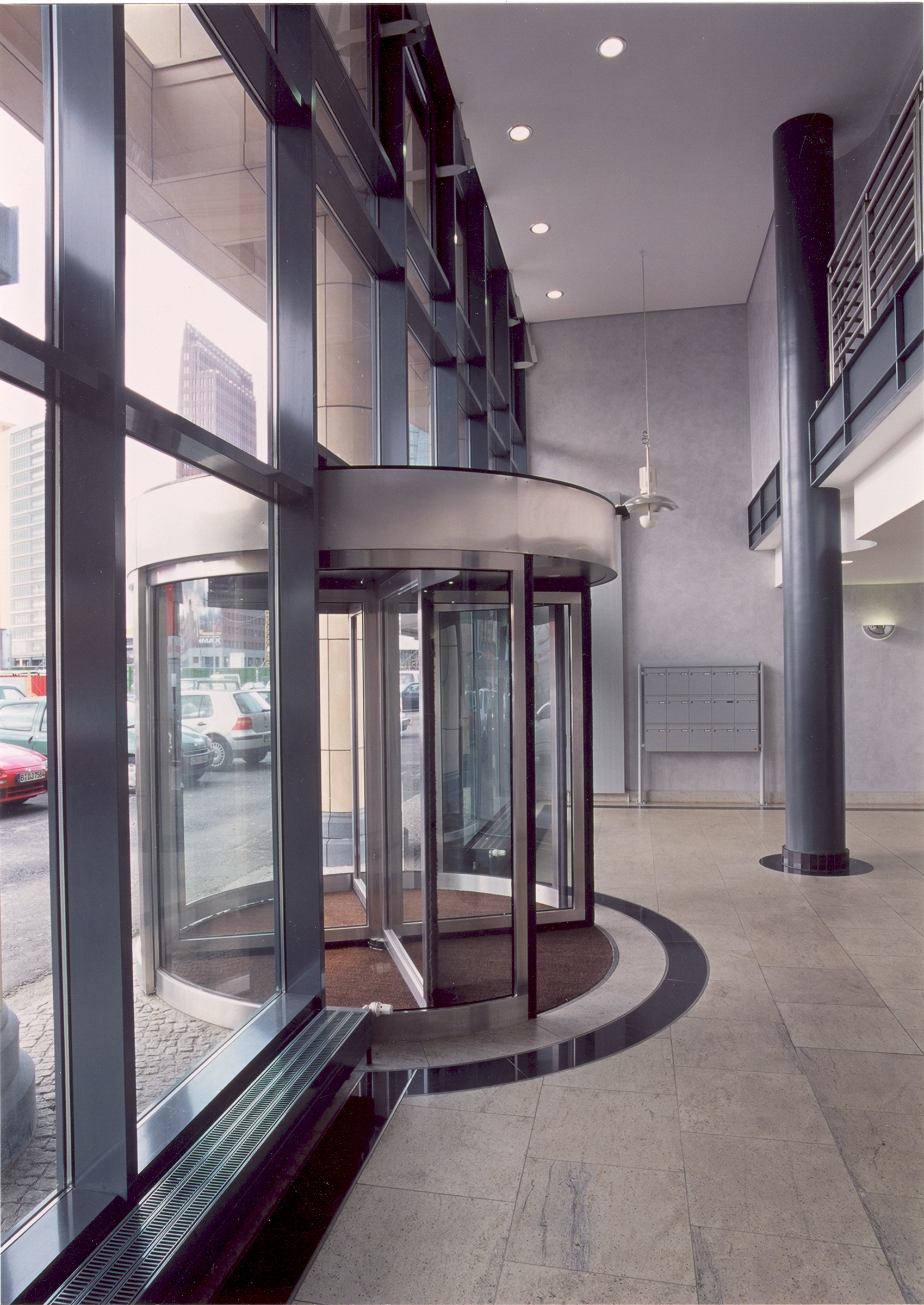Mosse Palais Berlin Lobby by HDS Architecture