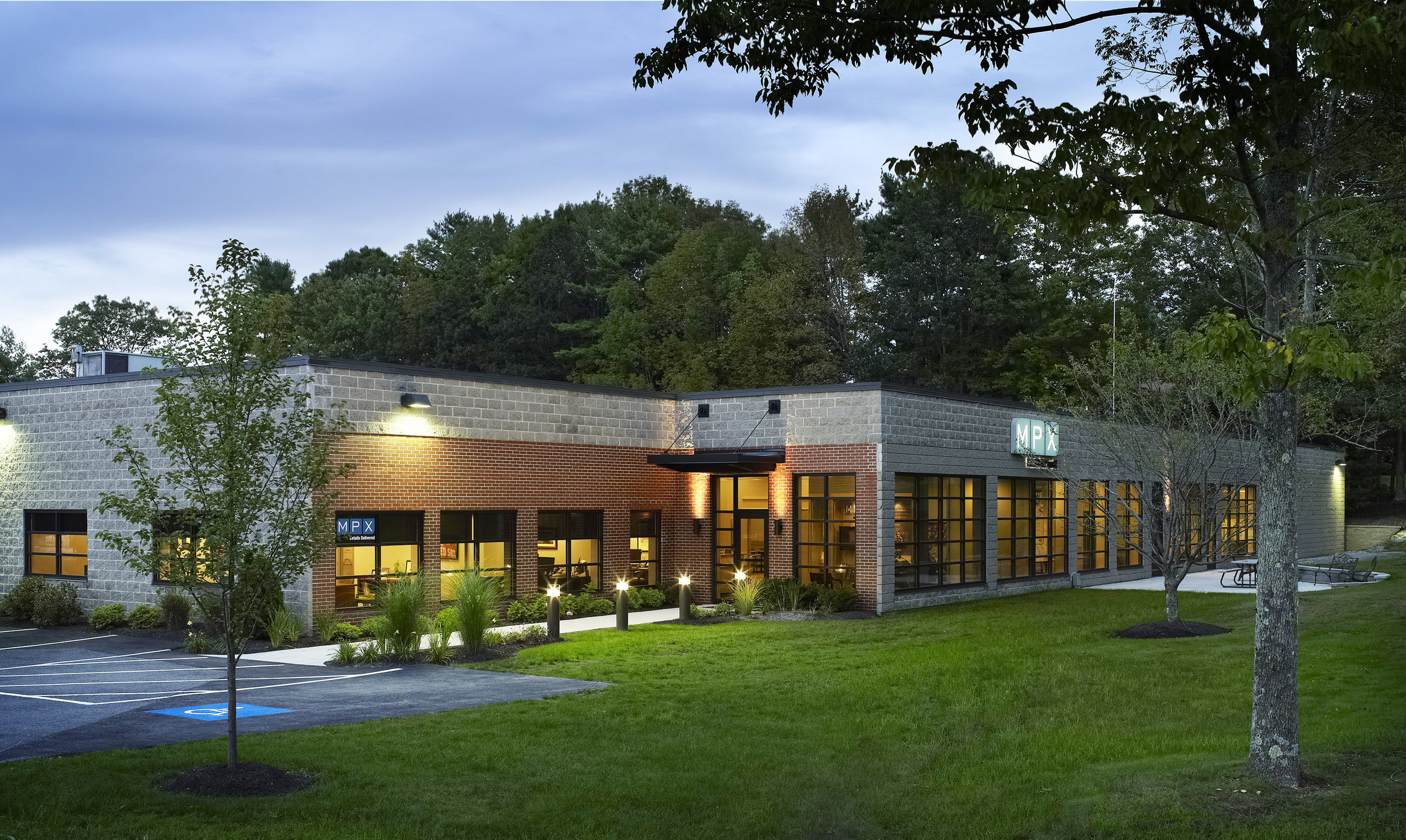 MPX Corporate Headquarters Exterior by HDS Architecture